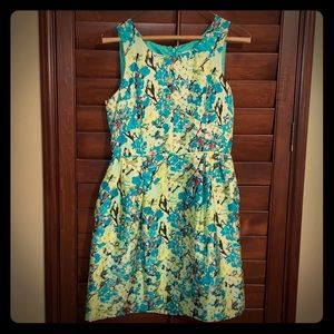 Jcrew sleeveless silk dress